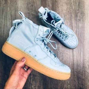 Nike Air Force 1 Mid Ocean Bliss Women's Size 8